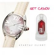 Bruno Banani Ceas & Parfum Diesel Zero Set Cadou