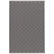 Dekoria Dywan Modern Geometric black/wool 160x230cm, 160 × 230 cm