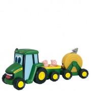 Tomy John Deere Traktor med djur