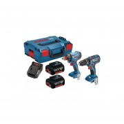Taladro + Atornillador Inalám GSB 180-LI + GDX 180 LI Bosch