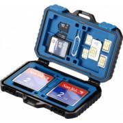 Carcasa de protectie depozitare carduri 27 compartimente toate tipurile de card protectiva Puluz