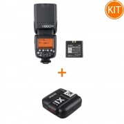 Kit Blit Godox V860II pentru Sony + X1T-S TTL Transmitator Wireless