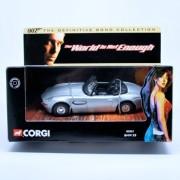 Bmw Z8 * The World Is Not Enough * 2001 Corgi Classics 007 The Definitive James Bond Collection 1:36 Scale Die Cast Vehicle