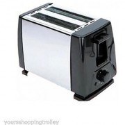 Skyline 2 Slice Pop-Up Toaster - VT-7021 - (Black/White)