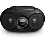 CD Audio System, Philips AZ215B, 2x1W RMS, FM/MW, Black