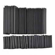 TOOGOO(R) ToogooR 328Pcs Heat Shrink Tube Black 8 Sizes Tubing Wrap Sleeve Set Combo