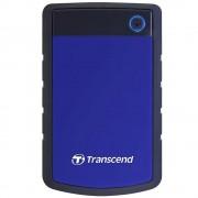 """Transcend StoreJet HDD Extern 2TB 2.5"""" USB 3.0 Negru/Albastru"""