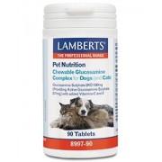 Lamberts Glucosamine kauwtabletten voor hond en kat 90tb