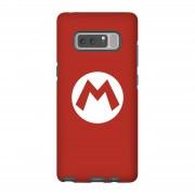 Nintendo Funda móvil Nintendo Mario Logo para iPhone y Android - Samsung Note 8 - Carcasa doble capa - Mate
