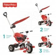 Tricicletă Fisher-Price Charm Plus TouchSteering roşie cu copertină de la 10 luni ST3250533