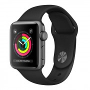 Apple Watch Series 3 GPS 38mm in alluminio grigio siderale - Sport nero