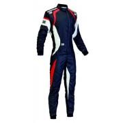 Omp Racing One Evo Suit 2015 Nero/Bianco Tg. 62