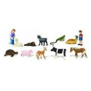 Miniatures En Plastique Toobs-Petting Zoo
