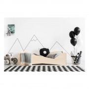 Adeko Dětská postel z borovicového dřeva Adeko BOX 5, 80 x 200 cm