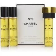 Chanel No.5 eau de toilette para mujer 3 x 20 ml formato viaje
