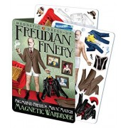 The Unemployed Philosophers Guild Freudian Finery Sigmund Freud Magnetic Dress Up Doll Play Set
