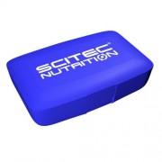Scitec Pill Box kék kapszulatartó Scitec Nutrition