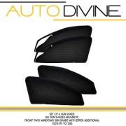 maruti suziki BALENO NEW Car Accessories Side Window Zipper Magnetic Sun Shade Set of 4 Curtains.