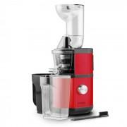 Fruitberry Slow Juicer 400W 60U/min tubo de abastecimento de Ø8,5 cm em aço inoxidável vermelho