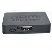 HDCP 4 K HDMI Splitter Full HD 1080 p Video HDMI Switch Switcher 1X2 Split 1 in 2 Out Versterker Dual Display Voor HDTV DVD PS3 Xbox MyXL