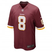 NFL Washington Redskins (Kirk Cousins) Herren-Football-Heimtrikot - Rot