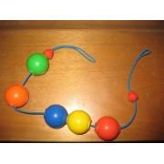 Mobile Hochet Poussette Boules Multicolores 56 Cm