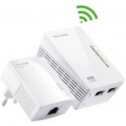 Extensor Powerline WiFi AV200 a 300 Mbps TP-Link TL-WPA2220KIT(EU)-Blanco
