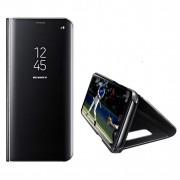 Husa Telefon Huawei P Smart Z / Y9 Prime (2019) Flip Mirror Stand Clear View Negru