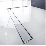 Grila ornament Tece model Glass 150cm culoare alba