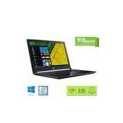 Notebook A515-51-51UX, Processador Core i5 (7º geração) de 2.5ghz, Memória de 8gb, HD de 1tb, Tela de 15.6 Acer