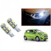Auto Addict Car T10 9 SMD Headlight LED Bulb for Headlights Parking Light Number Plate Light Indicator Light For Chevrolet Beat