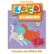 Loco Bambino Loco - Puzzelen met Dikkie Dik (3-5 jaar)