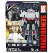 Transformers Generations Voyager, Titans Return - Doomshot & Megatron