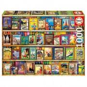 Educa Útikönyvek puzzle, 1000 darabos