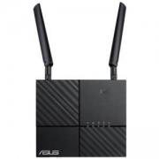 Рутер ASUS 4G-AC53U, 2.4 GHz/5 GHz, 300 Mbps/433 Mbps, RJ45 LAN x 2, USB 2.0 x 1, SIM Card x 1, ASUS 4G-AC53U