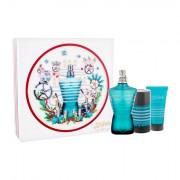 Jean Paul Gaultier Le Male confezione regalo eau de toilette 125 ml + balsamo dopobarba 50 ml + deodorante stick 75 ml Uomo