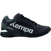 Kempa Handballschuh ATTACK MIDCUT - schwarz/weiß   45,5