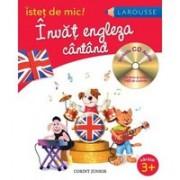 ISTET DE MIC! INVAT ENGLEZA CANTAND - CD INCLUS