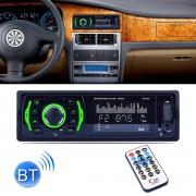 RK-525 Draadloze Bluetooth Audio MP3-speler Auto Stereo-ontvanger, met USB-poort, TF-kaartsleuf, AUX-ingang, 7 kleuren achtergrondverlichting en FM