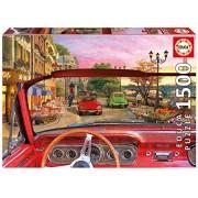 Paris In A Car Educa 1500 Piece Puzzle