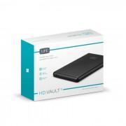 """Caixa Externa de Disco SATA 2.5"""" USB 3.0 1Life Preto"""