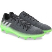 Adidas MESSI 16.1 FG Football Shoes For Men(Black, Green)