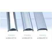 LED 0200 Pokrov za aluminijski profil leća 60°2m