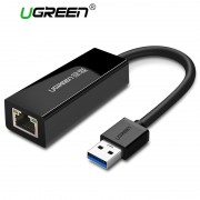 Ugreen USB Ethernet Network Card USB 3.0 2.0 to RJ45 Lan Internet for Xiaomi Mi Box Nintendo Nintend Switch USB Ethernet Adapter