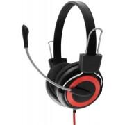 Casti Stereo cu microfon ESPERANZA EH152R (Negru/Rosu)