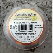 Artistic Wire 20 Ga - Natural, 1 rulle