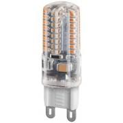 G9 3W VarmVit LED-lampa 210lm (3000K)