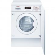 Mașina de spălat rufe cu uscător încorporabilă Bosch WKD28542EU, 7 kg/4 kg, 1400 rpm, Display, Sistem AutoDry, Clasa B