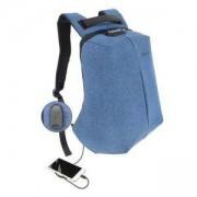 Раница за лаптоп Tellur V2 15.6 инча с USB порт, функция Анти-кражба - синя, TLL611212