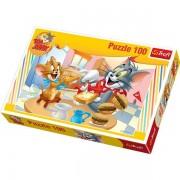 Tom és Jerry puzzle-100db